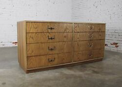 On Sale Vintage Campaign Style Eight Drawer Dresser By Founders Furniture