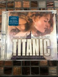 Titanic Music From The Motion Picture Cd, 1997 Movie Soundtrack