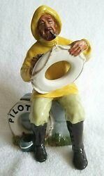 Royal Doulton The Boatman Pilot Insurance Co 50th Anniversary. Extremely Rare.
