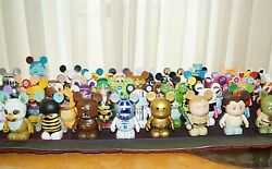 Lot Of 25 Randomly Selected Disney Vinylmation Figures Mostly Early Series
