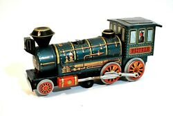 Vintage Tin Toy Locomotive Western Special Modern Toys Japan Battery Operated