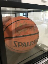 Signed Autographed Authentic Kobe Bryant Full Size Nba Basketball W/ Coa In Case