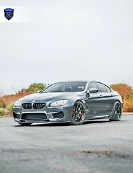 """20"""" Rohana Rfx11 Gloss Black Concave Wheels For Bmw F12 M6 Coupe And Gran Coupe"""