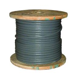 Southwire Service Entrance Wire 500 Ft. Stranded Seu Cable Copper Jacketed Gray