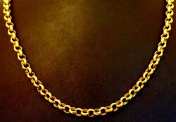 18 Inches 4 Mm 22 K Belcher Chain Motherand039s Day Gifting Necklace Chain Jewelry