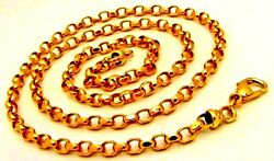 22 K Yellow Gold Handmade Belcher Chain Best Gifting Ideas For Mother's Day IND