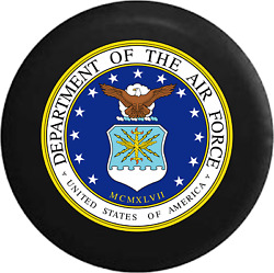 Spare Tire Cover Dept Air Force Usaf Eagle Military Seal Jk Accessories