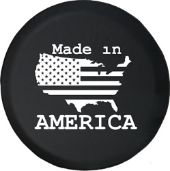Spare Tire Cover Us United States Flag Made In America Jk Accessories