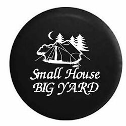 Spare Tire Cover Small House Big Yard Camping Outdoors Tent Rv Accessories