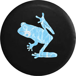 Spare Tire Cover Tree Frog Water Reflection Jk Accessories