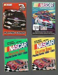 1991-2004 4 Bicycle Playing Cards Sets Nm Or Better