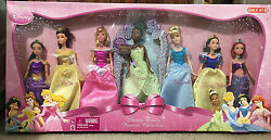 Disney Ultimate Princess Collection-7 Dolls,collectable Exclusive-nice L@@k
