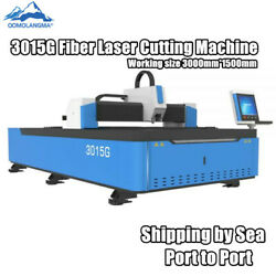 380V 3015G 3000mm*1500mm Fiber Laser Cutting Engraving Machine for metal