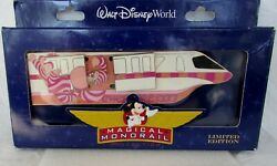 Disney Wdw Jumbo Monorail Pin Magical Collection Cheshire Cat Alice Le 750