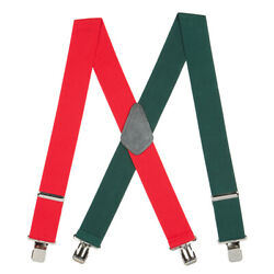 RedGreen Suspenders - 2 Inch Wide