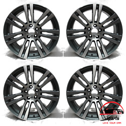 Set Of 4 Bmw X5 2011 2012 2013 20 Factory Original Staggered Wheels Rims