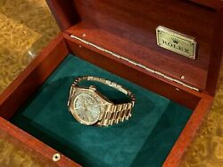 Vintage Rolex Day-Date President  Solid Rose Gold  Shah of Iran by Royal Order
