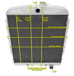 3 Row Best Cooling Champion Radiator For 1950 Oldsmobile 98 Chevy Conversion