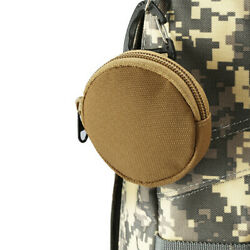 1pc 900D Tactical Wallet Pouch Portable Key Coin Purse With Hook Earphone Bag JF