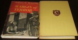 Margin Of Terror Red Badge Detective By William P. Mcgivern 1953 First Edition