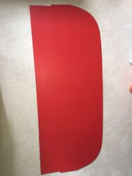 1961 Ford Starliner Rear Package Tray Molded In Red -- Brand New Product.