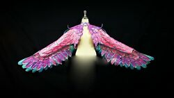 Da Neena Hut B882 Eagle King Of Bird Pageant Showgirl Leather Wings Backpack