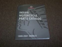 1999 2000 2001 Indian Chief Scout Spirit Deluxe Motorcycle Parts Catalog Manual