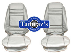 1979 Trans Am Silver Front Rear Seat Covers Upholstery 10th Anniversary Pui