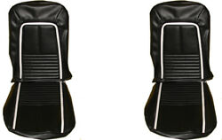 1967 Camaro Deluxe Front And Rear Seat Covers Upholstery Pui