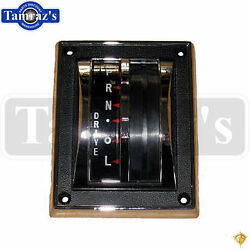 65-66 Mustang Floor Shifter Bezel Housing And Indicator - Automatic Transmission