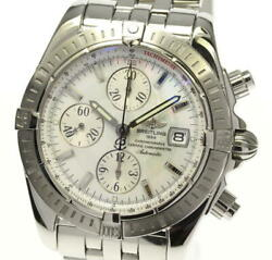 Breitling Chronomat Evolution A13356 Shell Dial Automatic Menand039s Watcha_524468