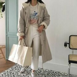 Canvas Shopping Tote Bags For Women Simple Handbags Large Capacity Grocery Bag $35.75