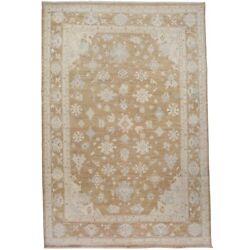 Antique Look Muted Oushak Turkish Hand-made Area Rug Vegetable Dye Carpet 9x13