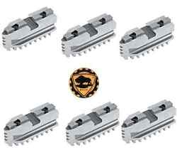 Bison Hard Master Jaws For Scroll Chuck 8 6-jaw 6 Piece Set 7-885-608