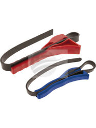 Aunger Pack 2 Oil Filter Strap Wrench 100 And 160mm Aofs2pk