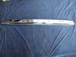 Bmw E30 New Euro Rear Central Chrome Bumper 1982-1987 1 888 276