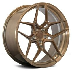20andrdquo Rohana Rfx11 Brushed Bronze Wheels For Cadillac Cts Cts V 20x9 And 20x10