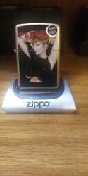 Rare Playboy 2012 Gold Pinup Girl June 1988 Zippo Lighter Limited Edition 32/250