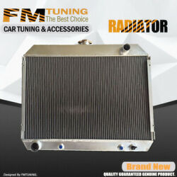 Aluminum Radiator For 68-74 Dodge Challenger Charger Plymouth Big Block 3row 26