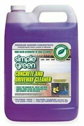 Concrete And Driveway Cleaner Removes Tough Stains Oil Grease And Grimes 1 Gal.