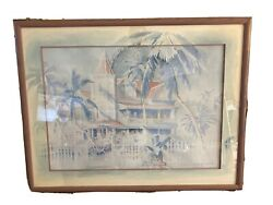 Jim Gerard Holehouse Remarque Painting Southernmost 333 Of 750 Signed