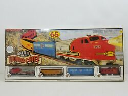 Vintage Bachmann Ho Scale Train Set Thunder Chief King Of The Rail 00501 Sealed
