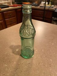 Super Rare Coca Cola Bottling Works Mullens West Virginia Straight Sided Cc Soda