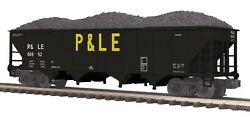 20-97822 Pittsburgh And Lake Erie Pandle 4 Bay Hopper Car W/coal Load Mth