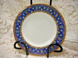 Minton Barchester And03993 Like New 17cm Cake Plate Gold Rim 6 Avail Discontinued