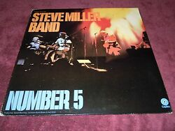 Steve Miller Band Number 5 Orig.1970 Capital Records Going To The Country Ex