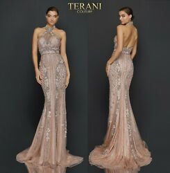 Terani Couture 2011gl2182 Authentic Dress. See Video. Free Fedex Worldwide