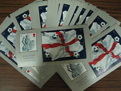 50 X Miniature Sheets World Cup 2002 Ms2292 Mnh 250 First Class Stamps