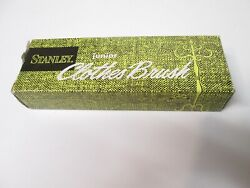 VINTAGE STANLEY HOME PRODUCTS JUNIOR CLOTHES BRUSH. #3045. IN BOX.