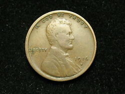 Close-out Sale Very Fine 1916-s Lincoln Wheat Cent Us Collectible Coin 240i
